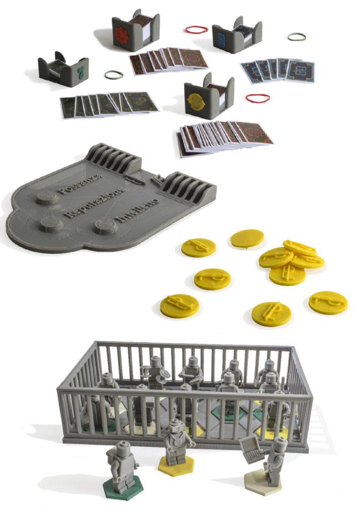 Carte, monete e personaggi - Palisman