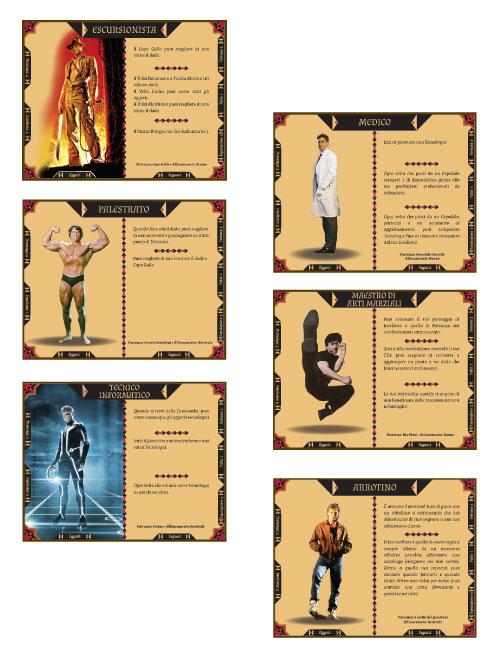 Carte Personaggi - Palisman