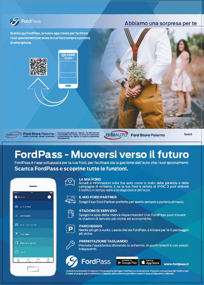 Pieghevole Ford Pass